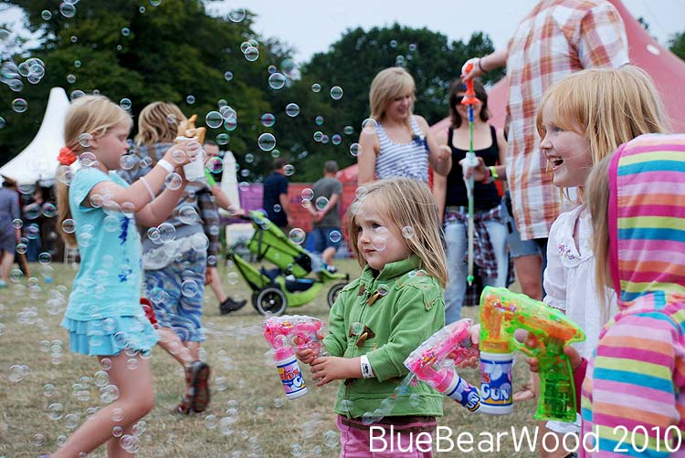 Camp Bestival Bubbles