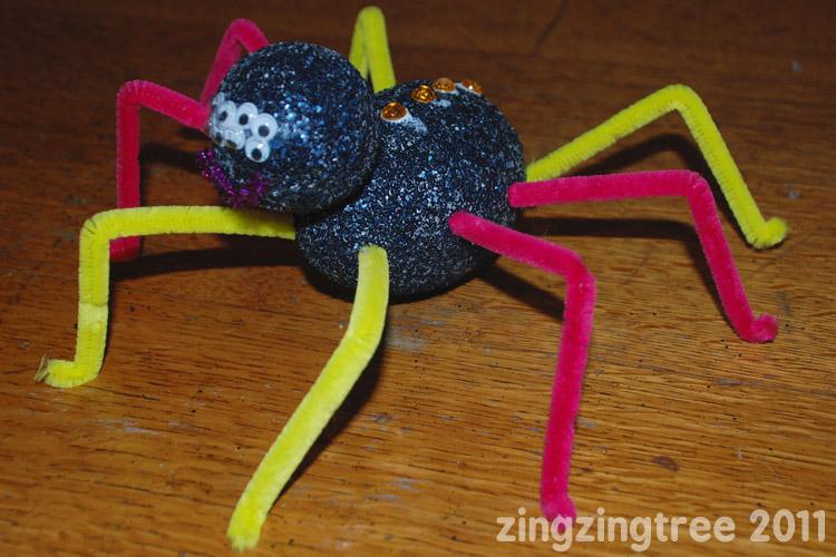 Navy Spider