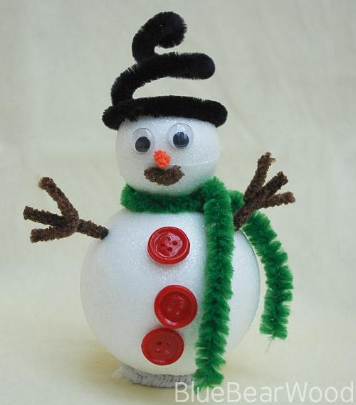 Kids Snowman Decoration