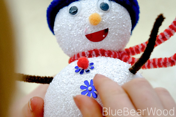 Kids Snowman Craft Tutorial