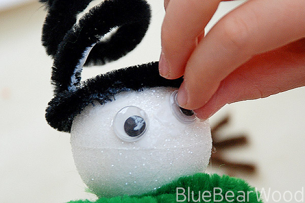 Snowman Craft Eyes
