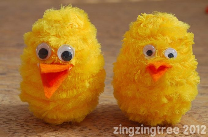Cute Easter Chick Craft