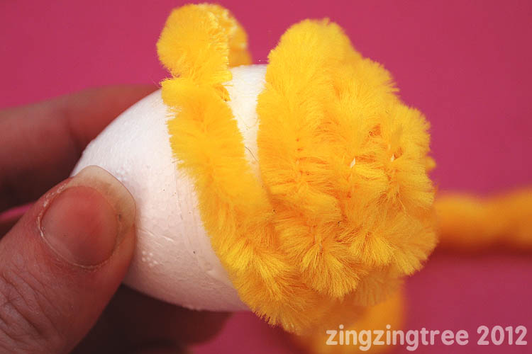Easter Chick Wrap