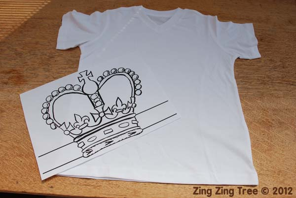 Crown tee 1 small