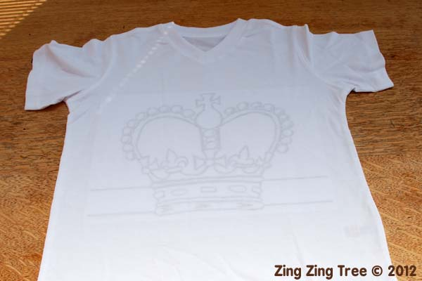 Crown tee 2 small