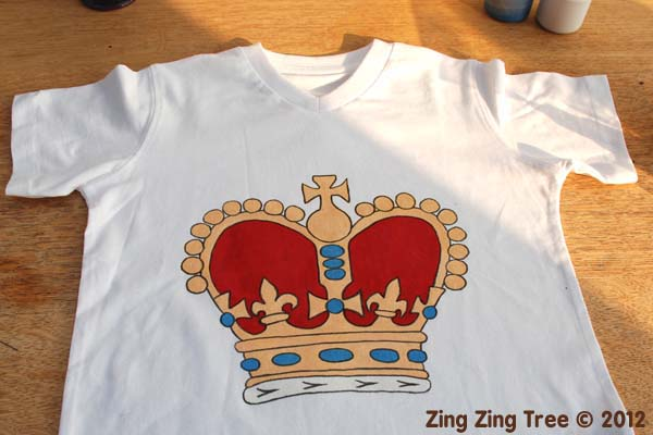 Crown tee 4 small