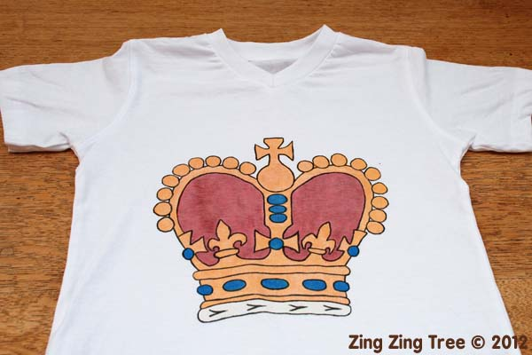 Crown tee 6 small