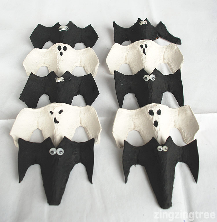 Bat and ghost Bunting