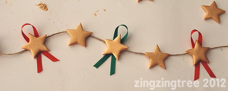 Ribbon Star Garland