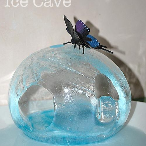 How To Make An Amazing Ice Cave – small world play