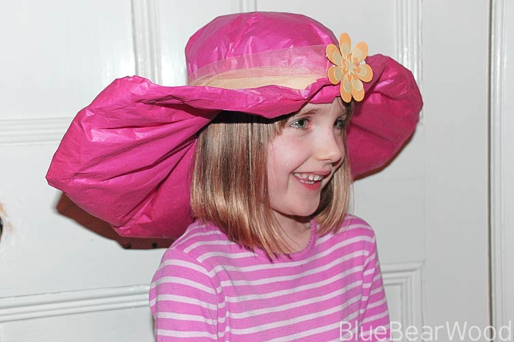 How To Make A Tissue Paper HAt