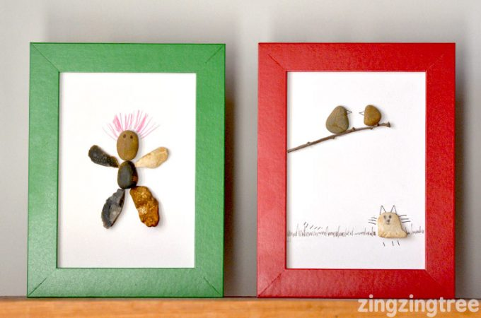 Using Pebbles To Make Pebble Art