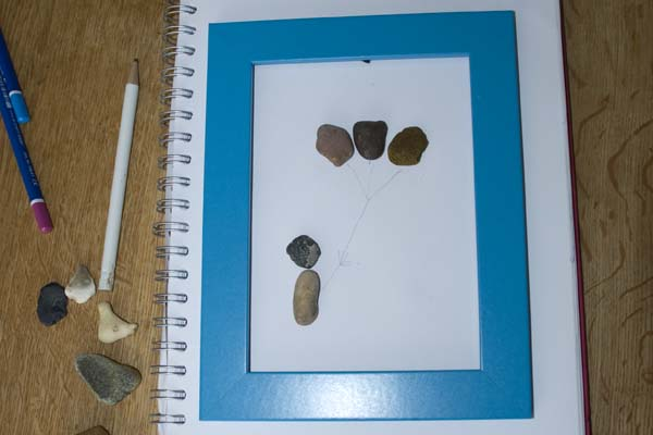 Example Pebble Art
