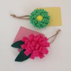 Big Flower tags