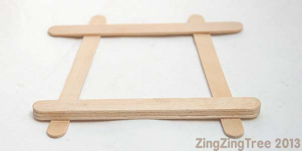 Craft stick Frame 2
