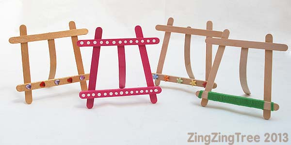 craft stick easels