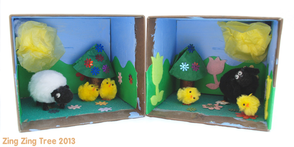 Country Meadow Diorama / Story Box