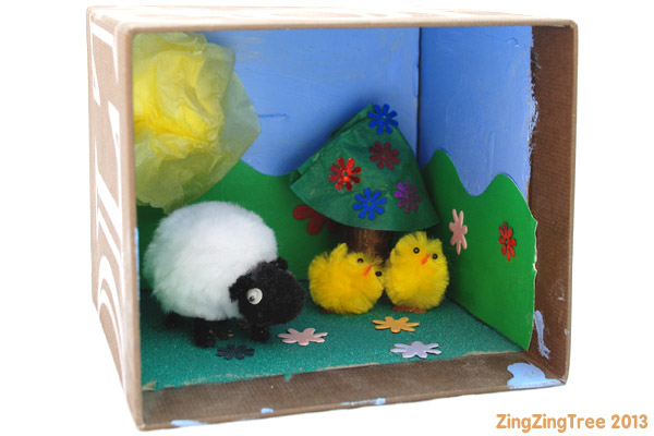 White Sheep Story Box