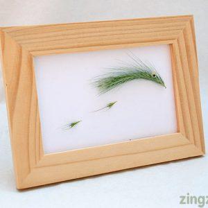 Grass seed art