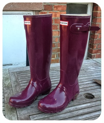 Shoesday Tuesday – Wonderful Wellies by Hunter
