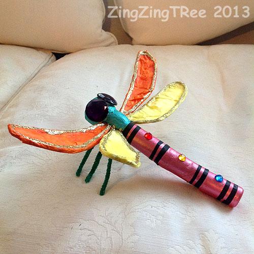 Dragonfly cork