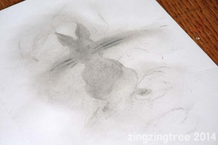 Paper Bunny Stencil