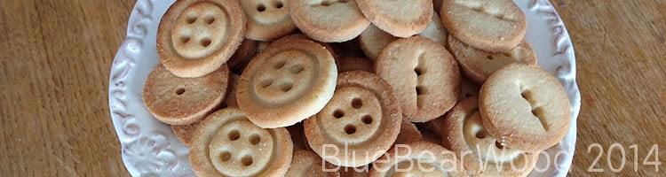 Button Biscuits (Button Cookies)