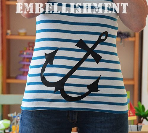 Cricut Explore Custom T-Shirt – Anchor