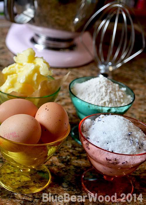 Madeleine Ingredients