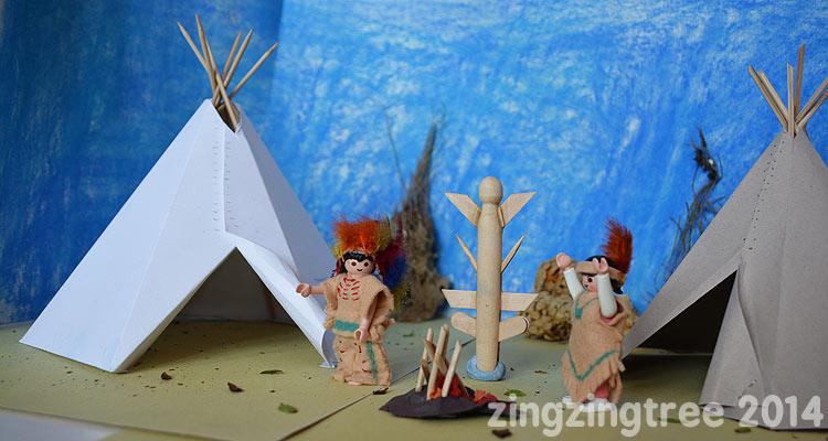 Native-American-Campfire