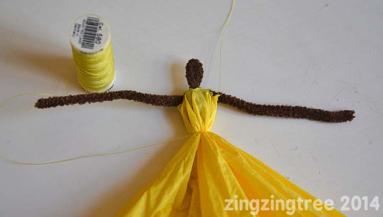 Pipe Cleaner Princess waist