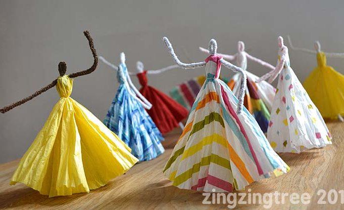 Pipe Cleaner Dancing Princesses