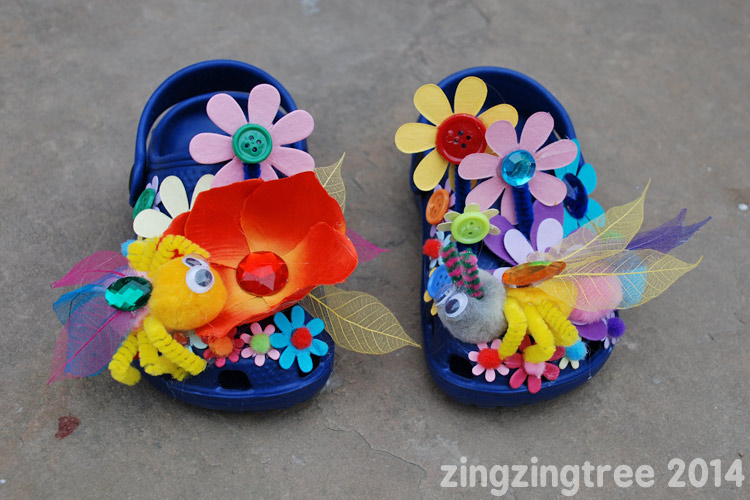 Bumble Flower Shoes
