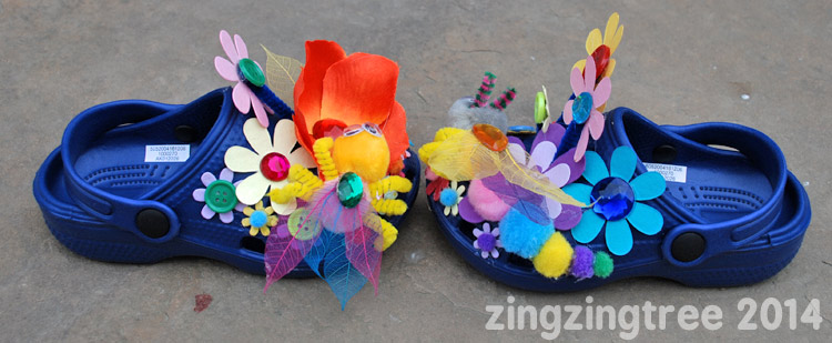 Bumble Flower Shoes Side