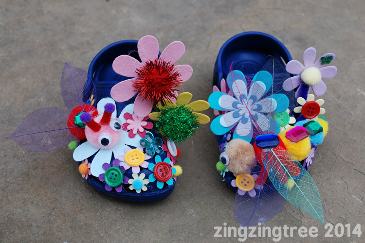 Dragonfly Flower Shoes