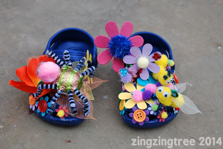 Spider Flower Shoes