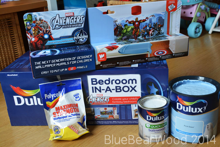 Bedroom In A Box Avengers
