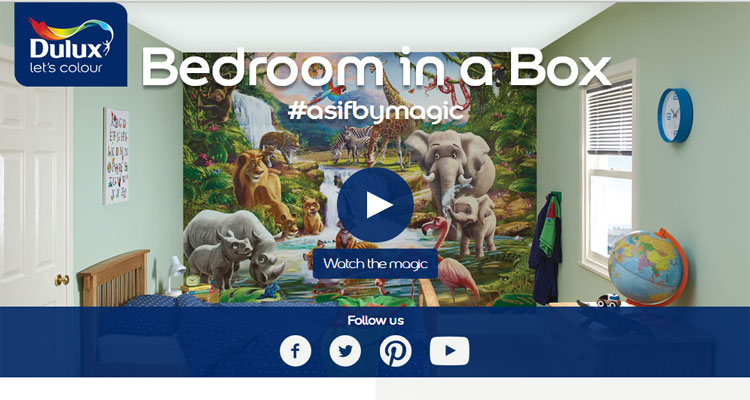 Dulux Bedroom In A Box Website