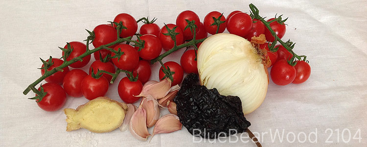 Spicy Roast Tomato Soup Ingredients