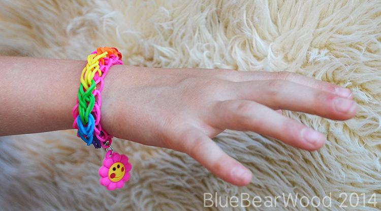 Loom Twister ridge style bracelet