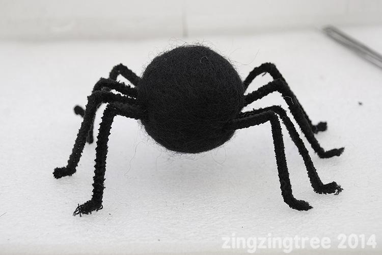 Felt Spider Body
