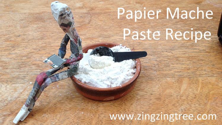 Papier Mache recipe