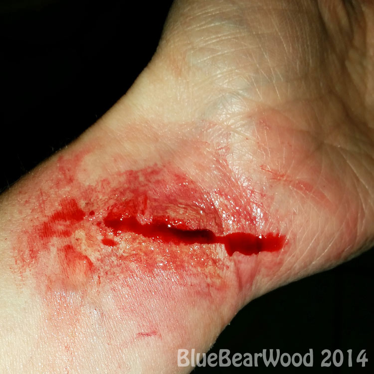 Halloween Bloody Wound Special Effect