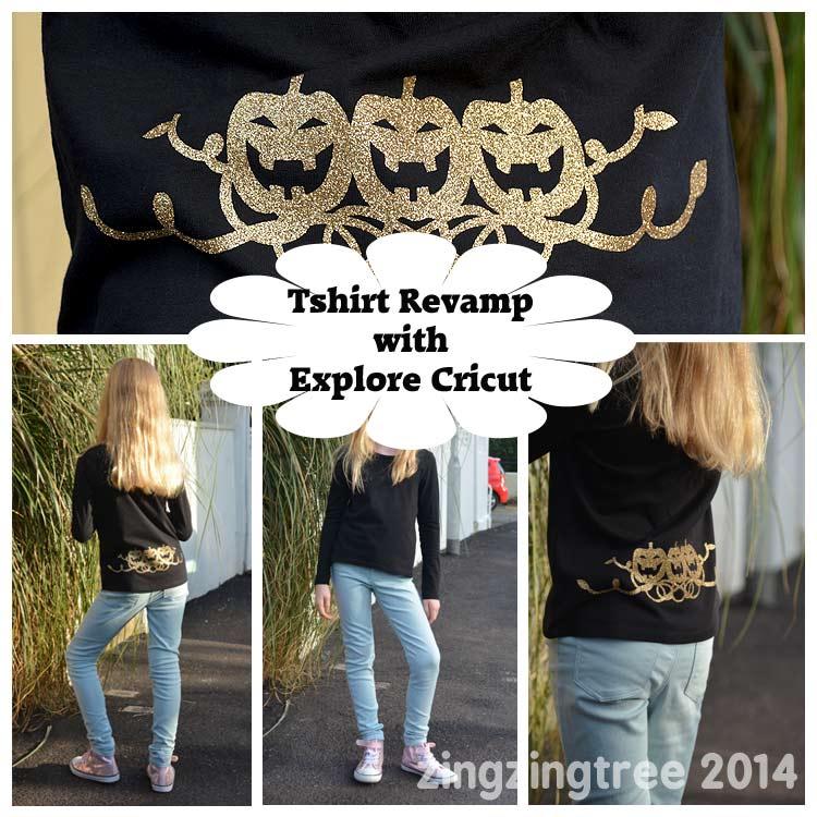Cricut Explore Pumpkin Tshirt