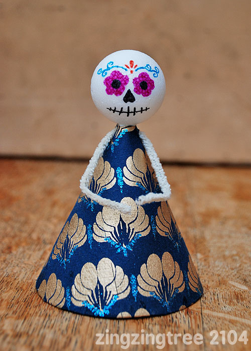 Sugar Skull Doll craft
