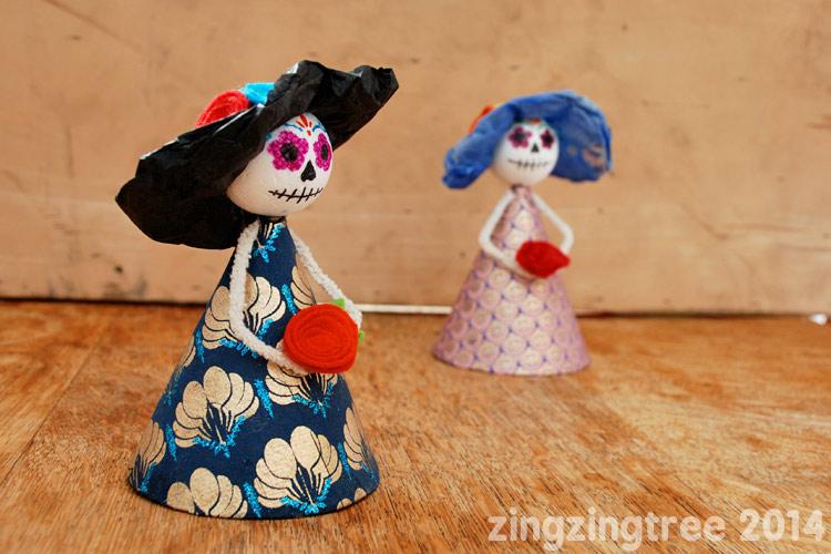 Sugar Skull Doll