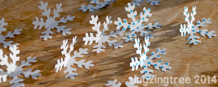 Bent 3D Snowflake