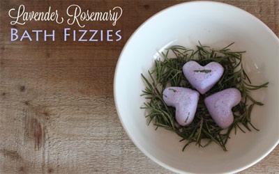 Lavender Bath Fizzes