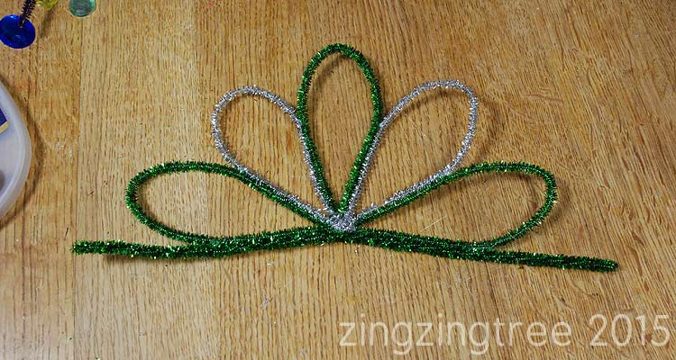 Tinsel Pipe Cleaners Glue