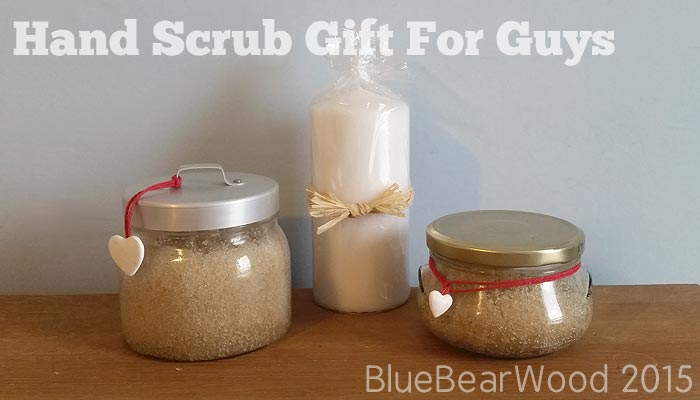 Homemade Hand Scrub is the perfect Gift For Men